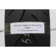 Мотошина новая 190/50 R17 Bridgestone Battlax BT016 Новая D-516