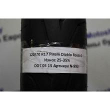 Мотошина бу 120/70 R17 Pirelli Diablo Rosso 2 N-993