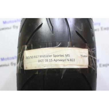 Новая мотошина 200/50/17 Metzeler Sportec M5 АРТ N-822